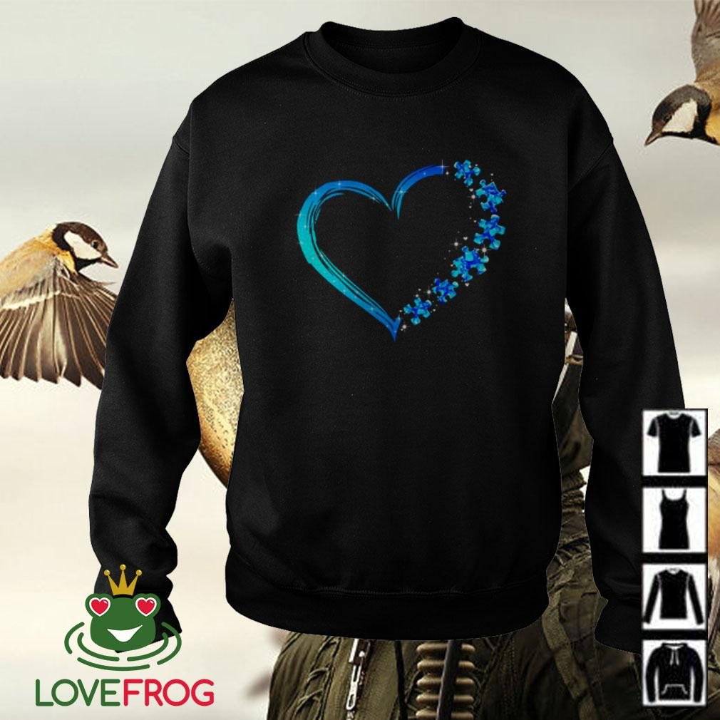 Love Autism heart Sweater