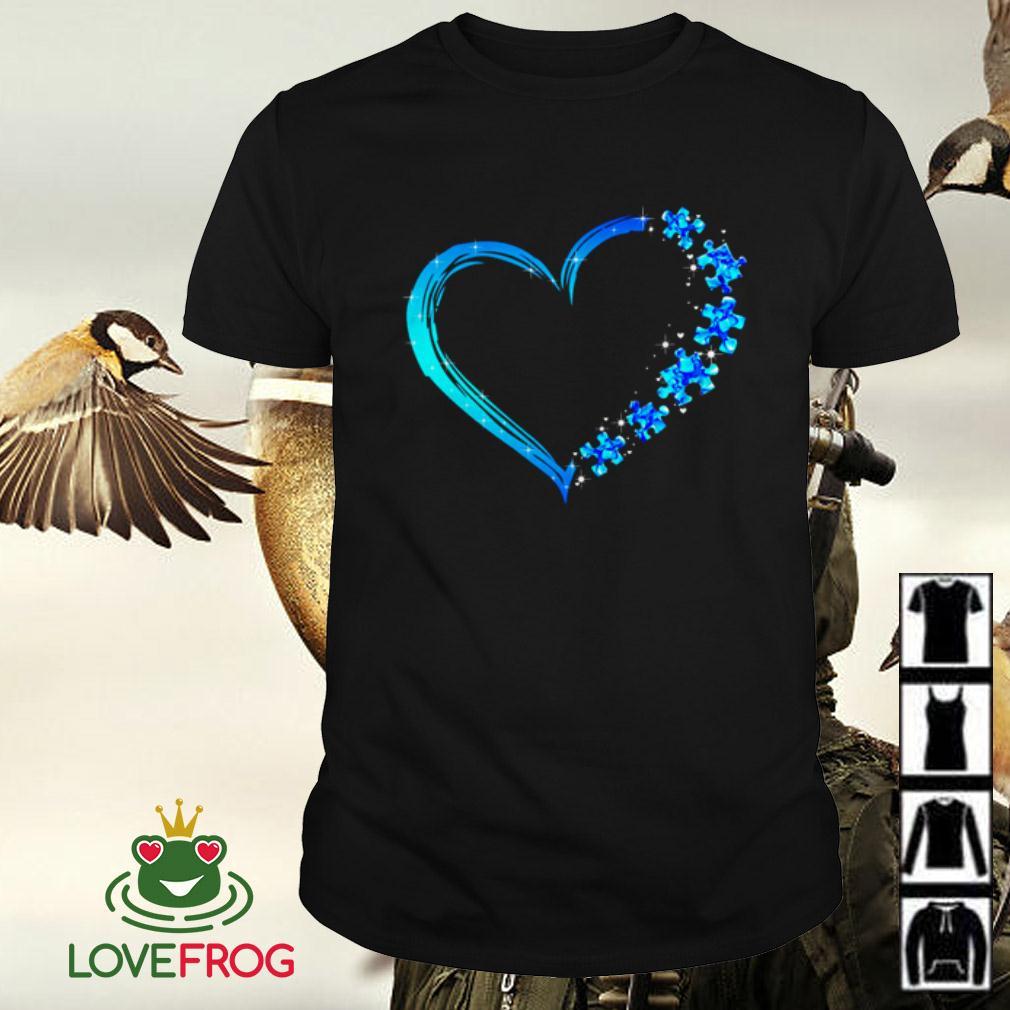 Love Autism heart shirt