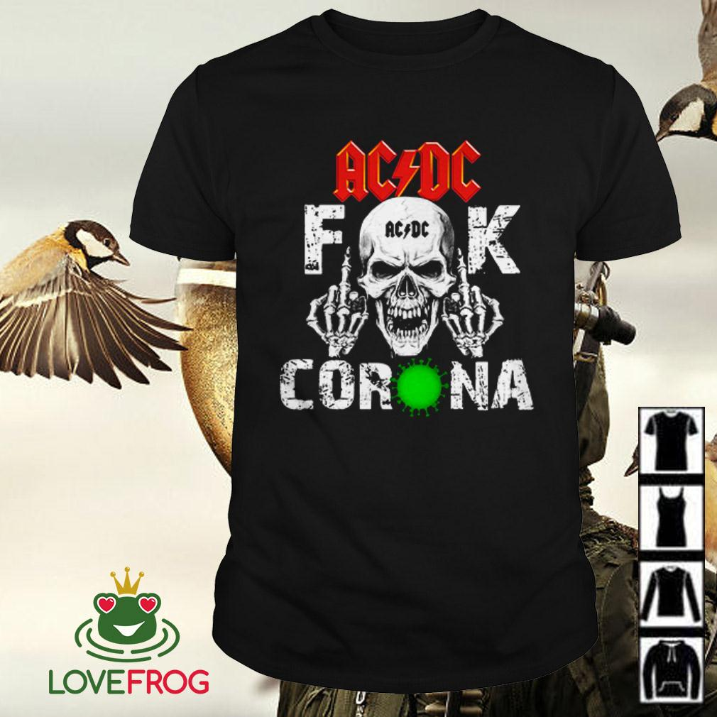 ACDC Fuck Corona Skullcap Covid 19 shirt