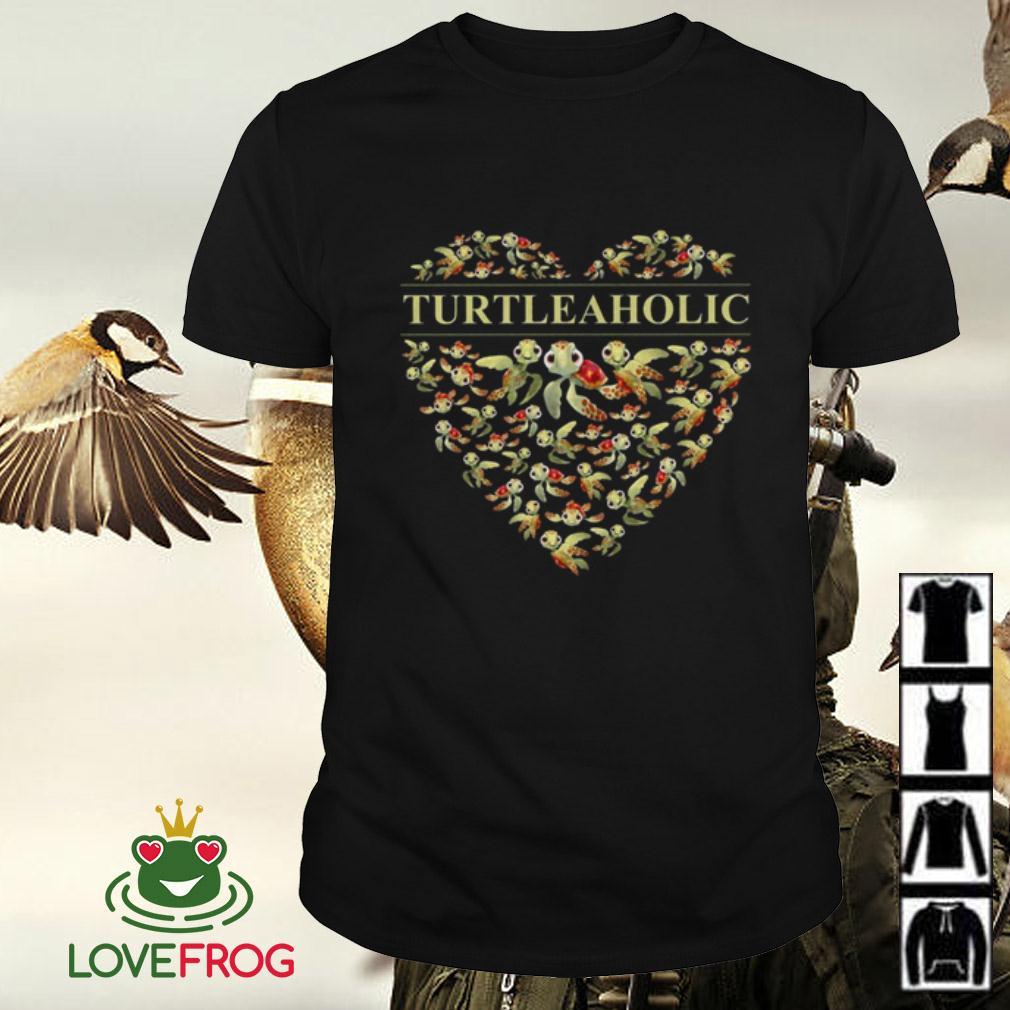 I love Turtleaholic – Turtle Aholic shirt