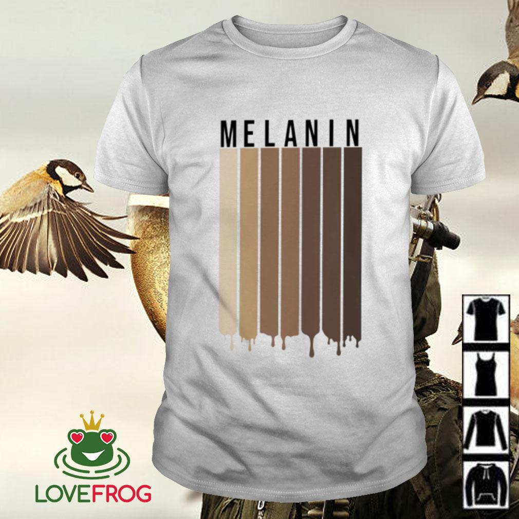 Melanin Black people shirt