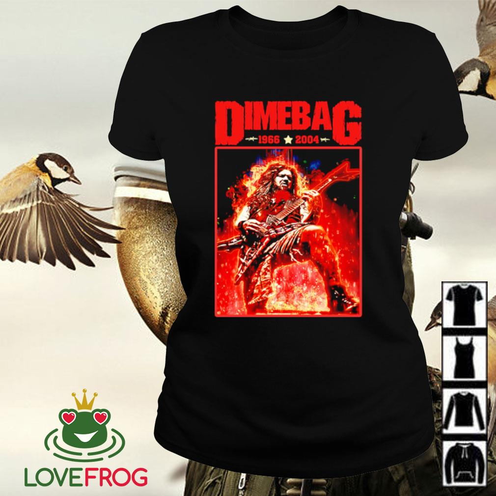 Dimebag 1966-2004 s Ladies-tee