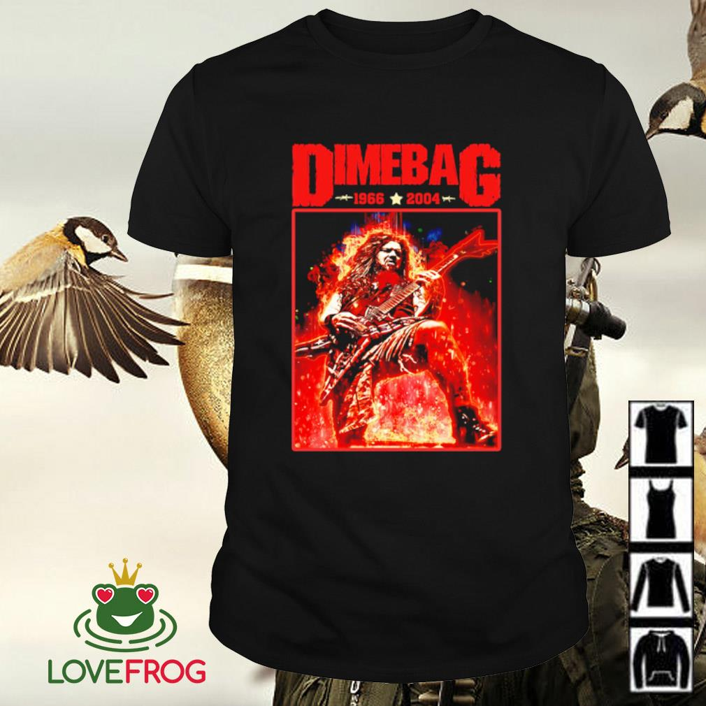 Dimebag 1966-2004 shirt