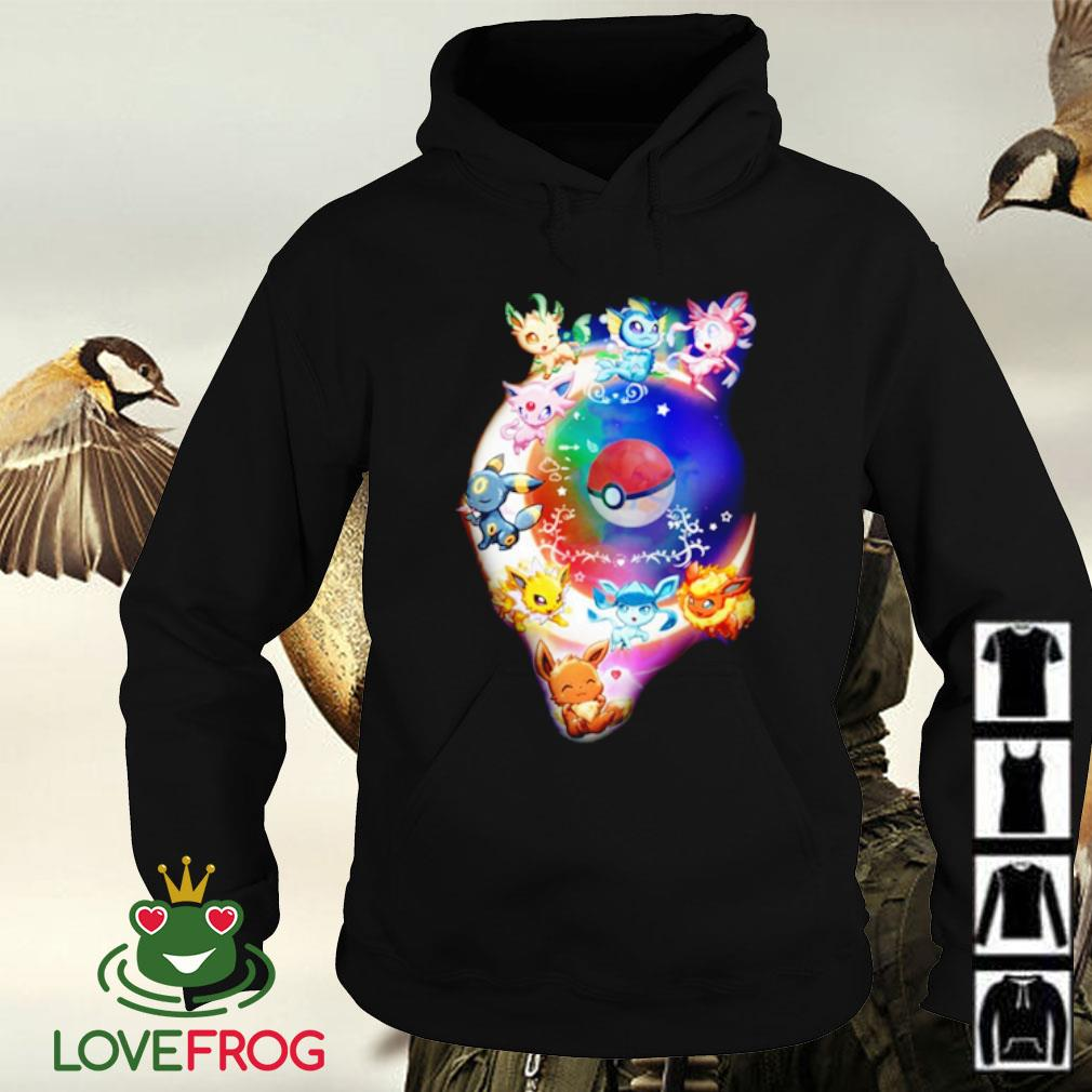 Pokemon Eeveelution Eevee Dreaming in the Night Sky s Hoodie