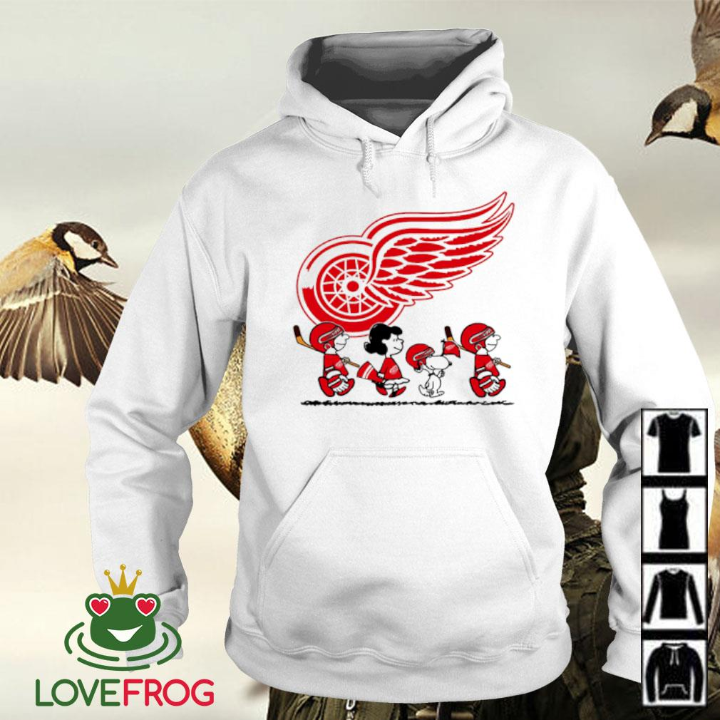Snoopy and friends Detroit Red Wings Logo s Hoodie