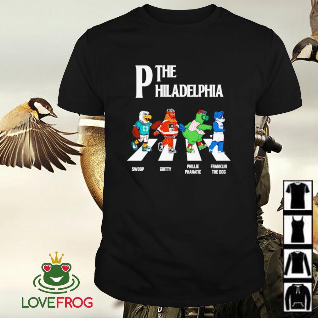 The Philadelphia Walking The Abbey Road Swoop Gritty Shirt