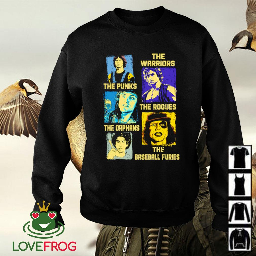 The warriors the punks the orphans the baseball furies s Sweater