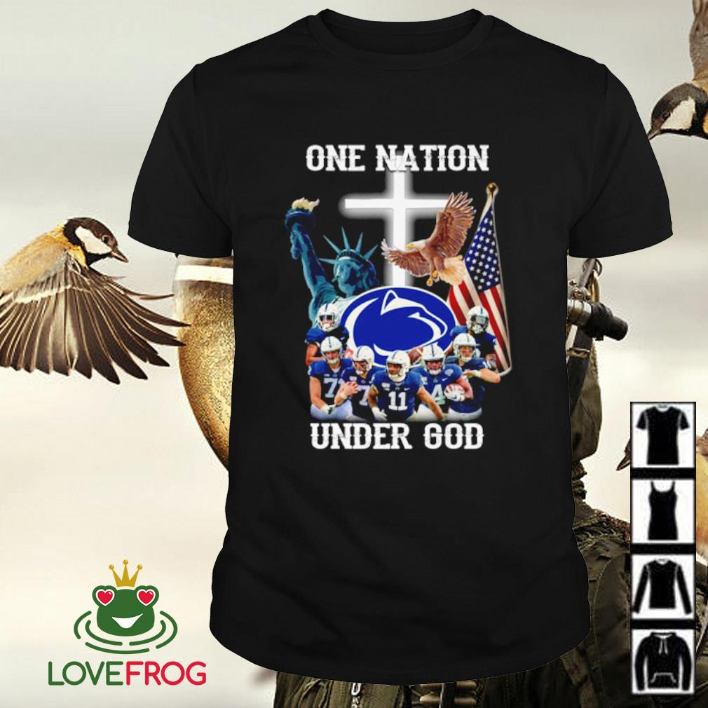Penn state nitanyy lions one nation under god shirt