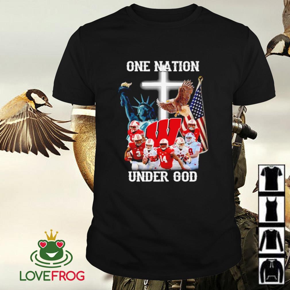 Washington football one nation under God shirt