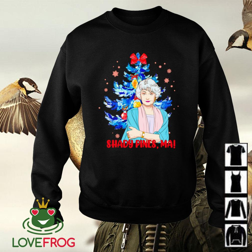 The Golden Girls shady pines ma Christmas s Sweater