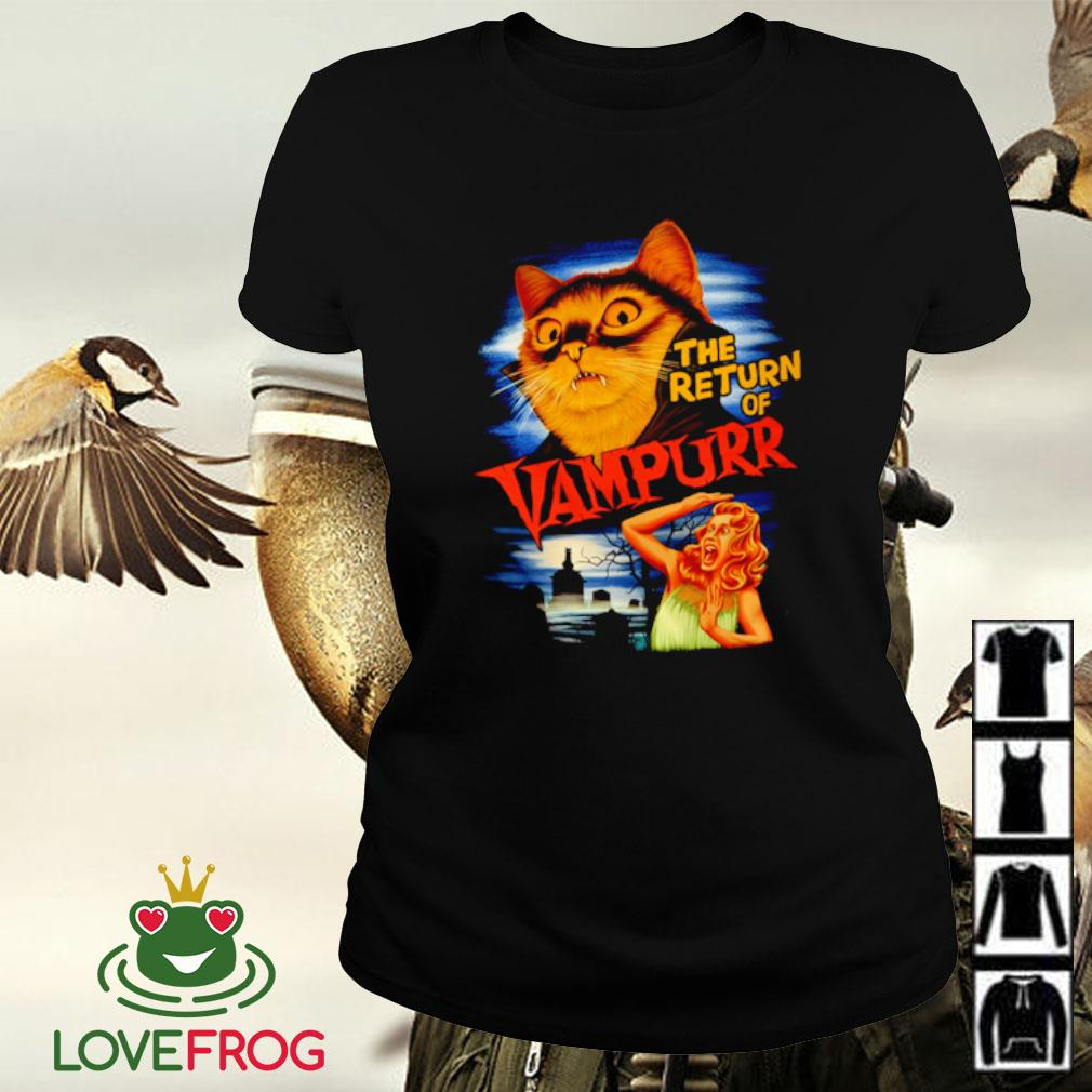 The Return of Vampurr Cat Vampire s Ladies-tee