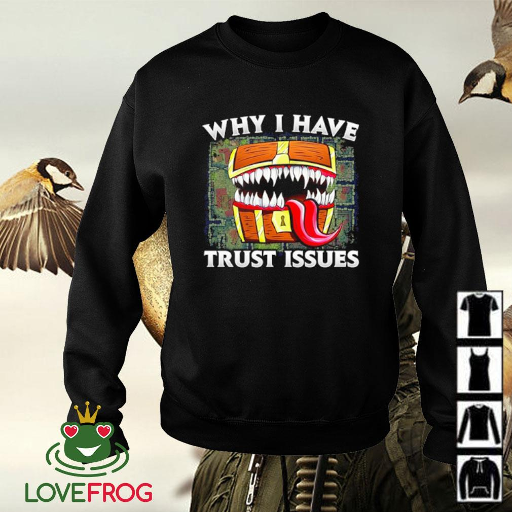 Why I have trust issues s Sweater