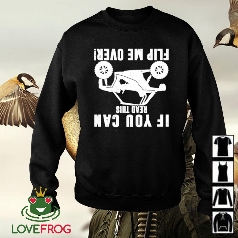 If you can read this flip me over s Sweater